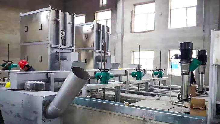 养殖屠宰污水处理工程案例