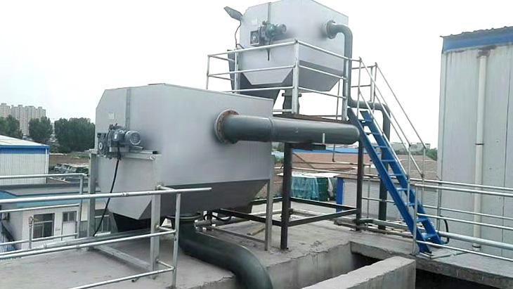 襄绿环保食品废水处理工程案例